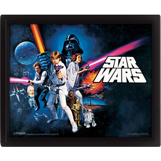 3D-s kép Star Wars - A New Hope, PYRAMID POSTERS