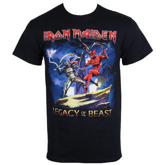 metál póló férfi Iron Maiden - Legacy Beast Fight - ROCK OFF, ROCK OFF, Iron Maiden