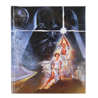 STAR WARS jegyzettömb - DARTH VADER - LOW FREQUENCY, LOW FREQUENCY, Star Wars