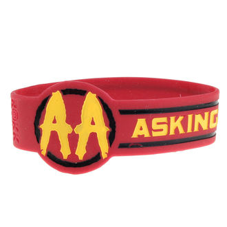 ASKING ALEXANDRIA gumi karkötő - DIE CUT CIRCLE LOGO - PLASTIC HEAD, PLASTIC HEAD, Asking Alexandria