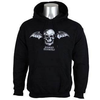 kapucnis pulóver férfi Avenged Sevenfold - DEATH BAT LOGO - PLASTIC HEAD, PLASTIC HEAD, Avenged Sevenfold
