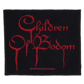 CHILDREN OF BODOM felvarró - BLOOD LOGO - RAZAMATAZ, RAZAMATAZ, Children of Bodom