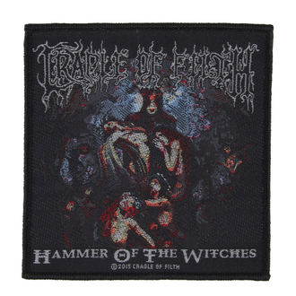 CRADLE OF FILTH felvarró - HAMMER OF THE WITCHES - RAZAMATAZ, RAZAMATAZ, Cradle of Filth
