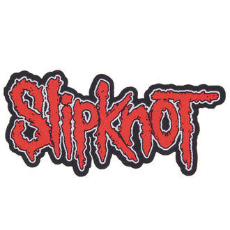 felvarró SLIPKNOT - LOGO CUT-OUT - RAZAMATAZ, RAZAMATAZ, Slipknot