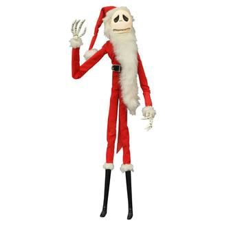 Nightmare before Christmas szobrocska- Coffin Doll Santa Jack