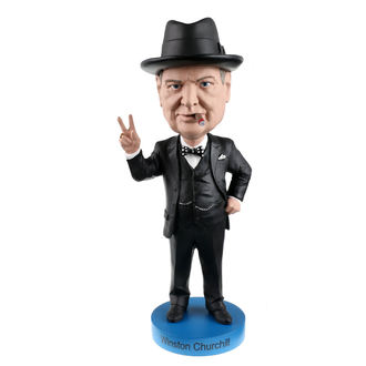 Winston Churchill szobrocska  - Bobble-Head