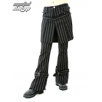 nadrág női ADERLASS - Skirt Pants Pin Stripe (Black-White), ADERLASS
