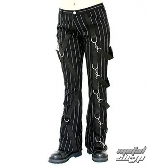 nadrág női ADERLASS - Cross Pants Pin Stripe (Black-White) - A-1-14-050-01
