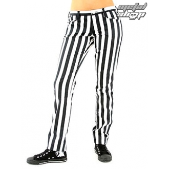 nadrág női Black Pistol - Close Pants Stripe Black/white - B-1-50-319-01