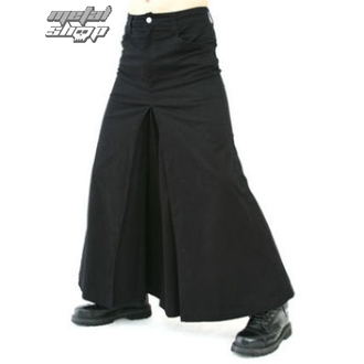skót szoknya Black Pistol - Men Skirt Denim Black - B-2-13-001-00