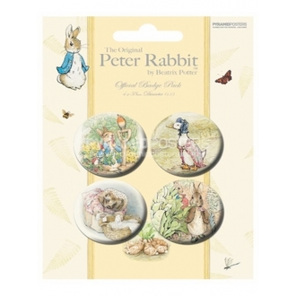 jelvények - Beatrix Potter - BP80167 - Pyramid Posters