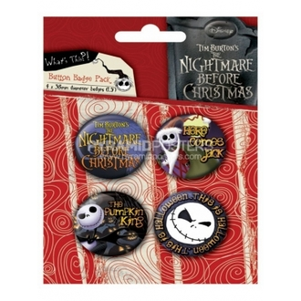 jelvények - Nightmare Before Christmas (Jack) - BP80303 - Pyramid Posters