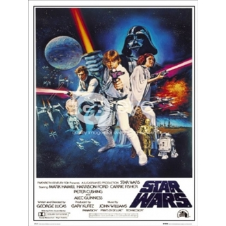 poszter - Star Wars Episode 4 - One Sheet B - FP1419 - GB posters