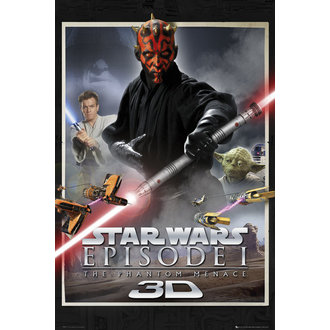 Star Wars poszter - Episode 1 One Sheet - GB Posters, GB posters
