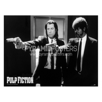 poszter - Pulp Fiction (B&W Guns) - GPP51003 - Pyramid Posters