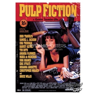 poszter Pulp Fiction (Cover) - GPP51004 - Pyramid Posters