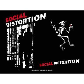 zászló Social Disortion - Slammer - HFL588