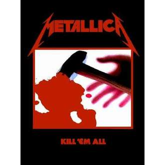 zászló Metallica - Kill'Em All - HFL0190