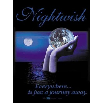 zászló Nightwish - Everywhere - HFL0421