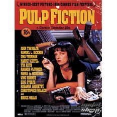 kép 3D Pulp Fiction (One-sheet) - PPL70031 - Pyramid Posters