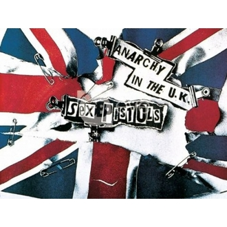 poszter - SEX PISTOLS anarchy - LP0378 - GB posters