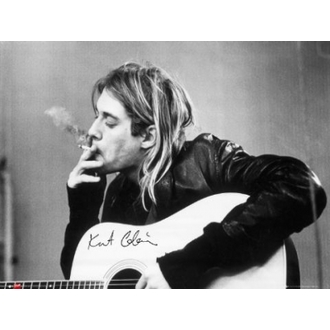 poszter - Nirvana - Kurt Cobain - smoking - LP1151 - GB posters