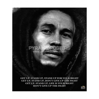 Poszter - Bob Marley (Get Up, Stand Up) - MPP50072 - Pyramid Posters