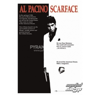 poszter Scarface (Movie One-sheet) - PP30091 - Pyramid Posters