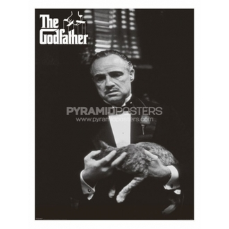 poszter - Godfather (Cat B&W) - PP30526 - Pyramid Posters