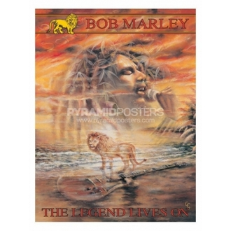 poszter - Bob Marley (Legend Lives On) - PP30664, PYRAMID POSTERS, Bob Marley