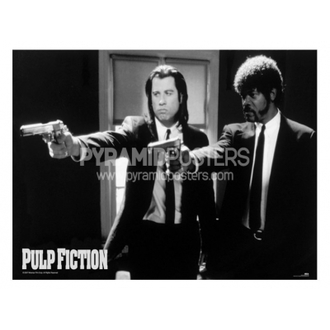 poszter - Pulp Fiction (B&W Guns) - PP31059 - Pyramid Posters
