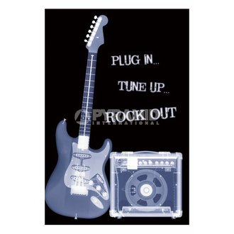 poszter Plug In... Tune Up ... Rock Out - PP31159 - PYRAMID POSTERS