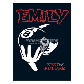 poszter - Emily The Strange (8 Ball) - PP31297 - Pyramid Posters