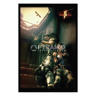 poszter Resident Evil 5 (Against A Wall) - PP31862 - PYRAMID POSTERS