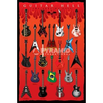 poszter Guitar Hell (Of Axes Of Evil) - PYROfMIS POSTERS - PP32523