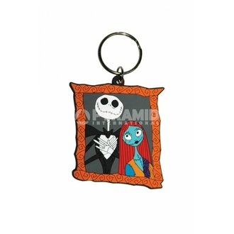 kulcstartó The Nightmare Before Christmas (Jack & Sally) - RK38063 - PYRTheMIS POSTERS