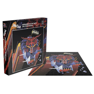 JUDAS PRIEST Lombfűrész puzzle - DEFENDERS OF THE FAITH - PLASTIC HEAD, PLASTIC HEAD, Judas Priest