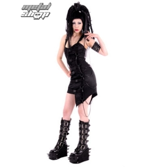 ruha női Sektor 1 - Cy-Mini Dress D.S. Black - S-5-19-071-00