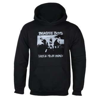 Férfi kapucnis pulóver BEASTIE BOYS - CHECK YOUR HEAD - FEKETE - GO TO HAVE IT, GOT TO HAVE IT, Beastie Boys