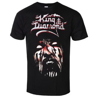 metál póló férfi King Diamond - PUPPET MASTER FACE - PLASTIC HEAD, PLASTIC HEAD, King Diamond