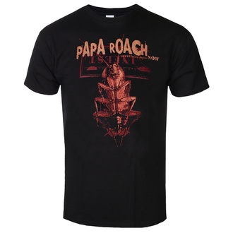 Férfi póló Papa Roach - We Are Going To Infest - Fekete - KINGS ROAD, KINGS ROAD, Papa Roach