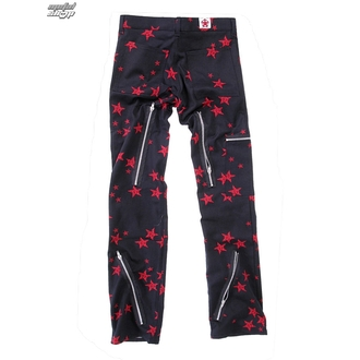 nadrág férfi Black Pistol - Two Leg Pants Stars - Black / Red - B-1-26-322-04