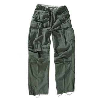nadrág férfi M65 Pant NYCO washed - OLIVE - 200201
