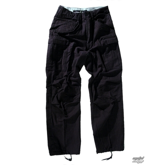 nadrág férfi M65 Pant NYCO washed - Black - 200201