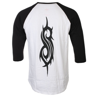 Férfi 3/4 ujjú póló Slipknot - Choir - WHT / BL Raglan - ROCK OFF, ROCK OFF, Slipknot