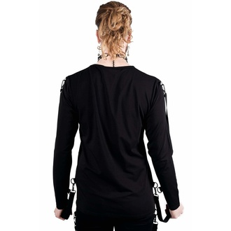 Unisex póló hosszú ujjakkal KILLSTAR - Hack You Up, KILLSTAR