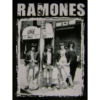 zászló Ramones - CBGB Photo - HFL0768