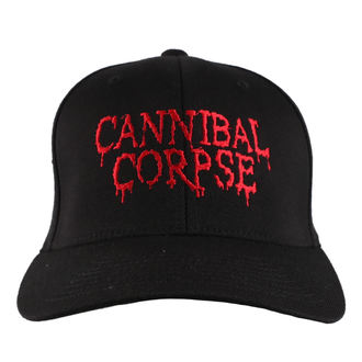 Sapka CANNIBAL CORPSE - RED - JSR, Just Say Rock, Cannibal Corpse