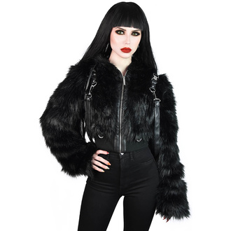 KILLSTAR Női dzseki - Night Creature Faux-Fur - KSRA002233
