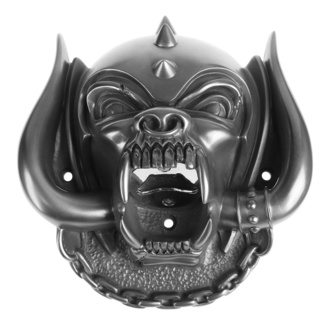 Sörnyitó (fali) Motörhead - Snaggletooth (Gun Metal Finish) - BEER BUDDIES, BEER BUDDIES, Motörhead